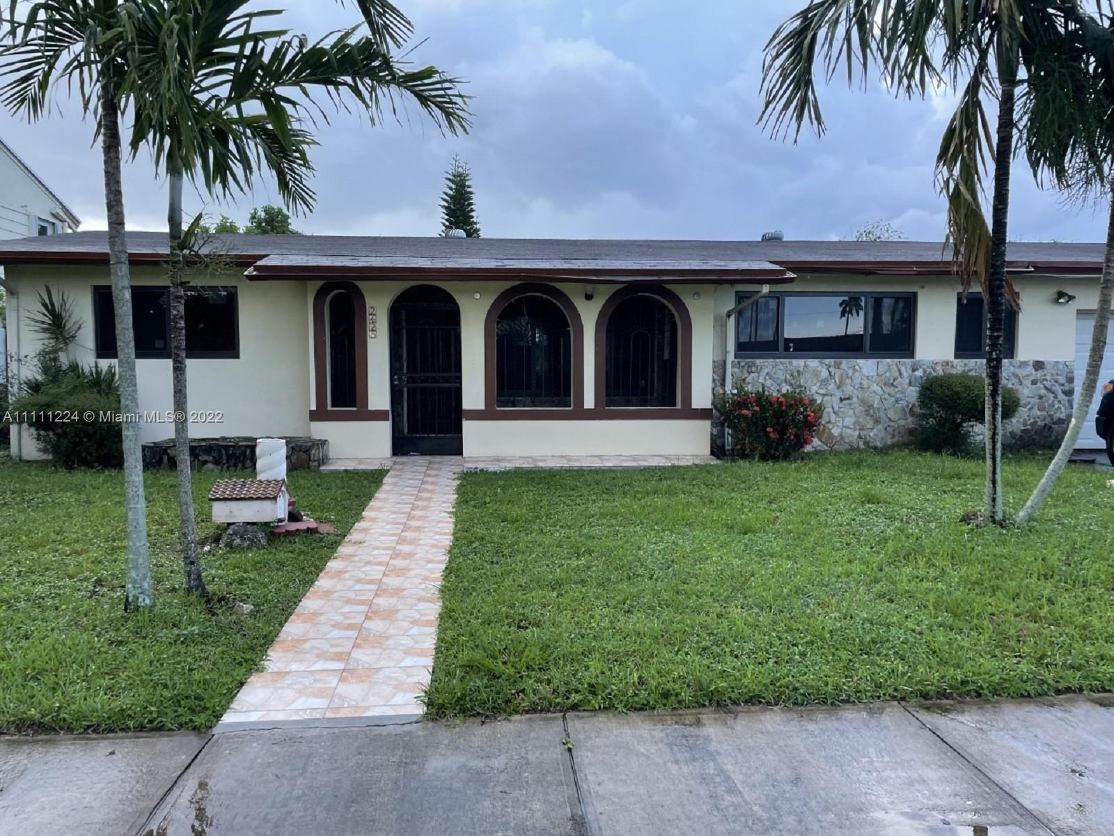 2425 NW 132nd St  For Sale A11111224, FL