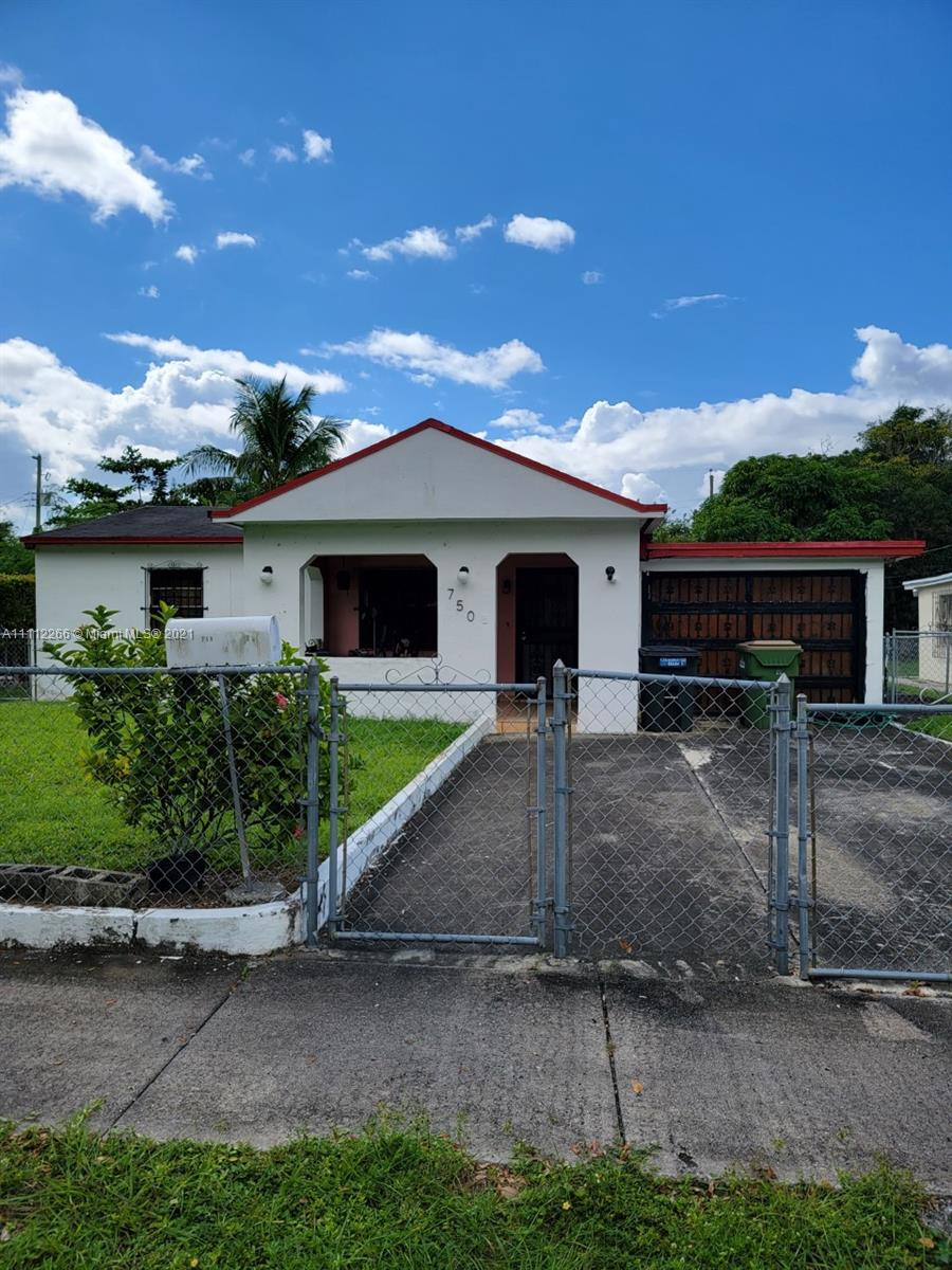750 NW 126th St  For Sale A11112266, FL