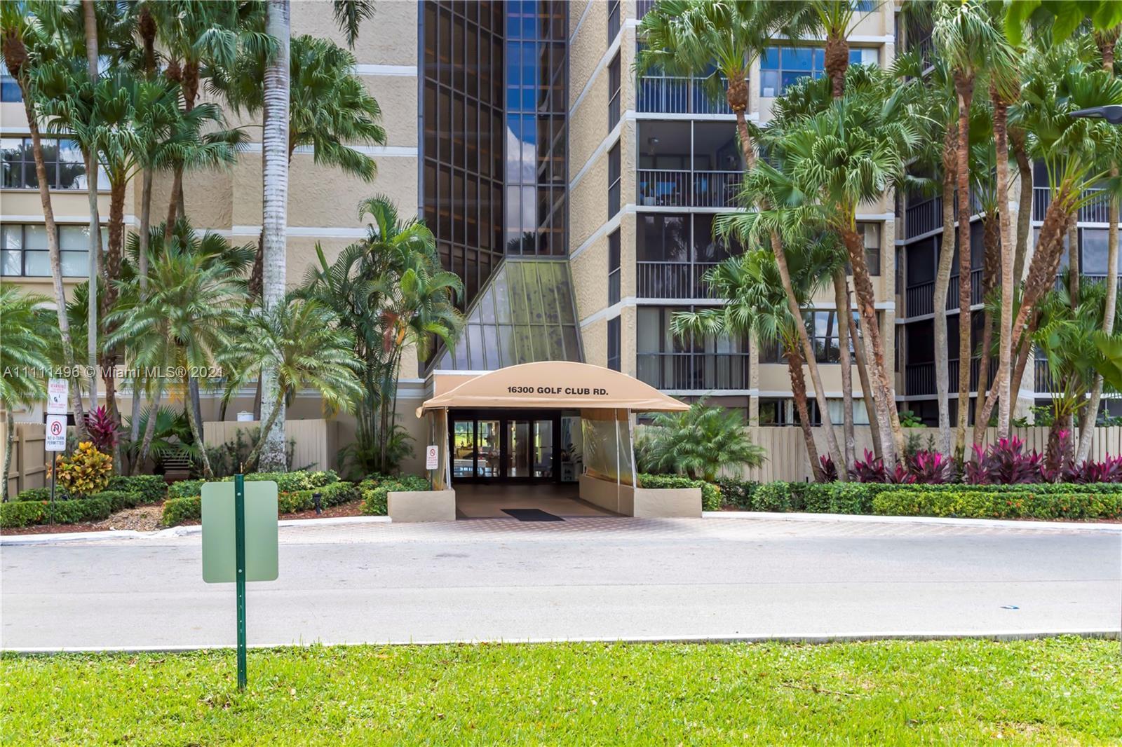16300  Golf Club Rd #314 For Sale A11111496, FL
