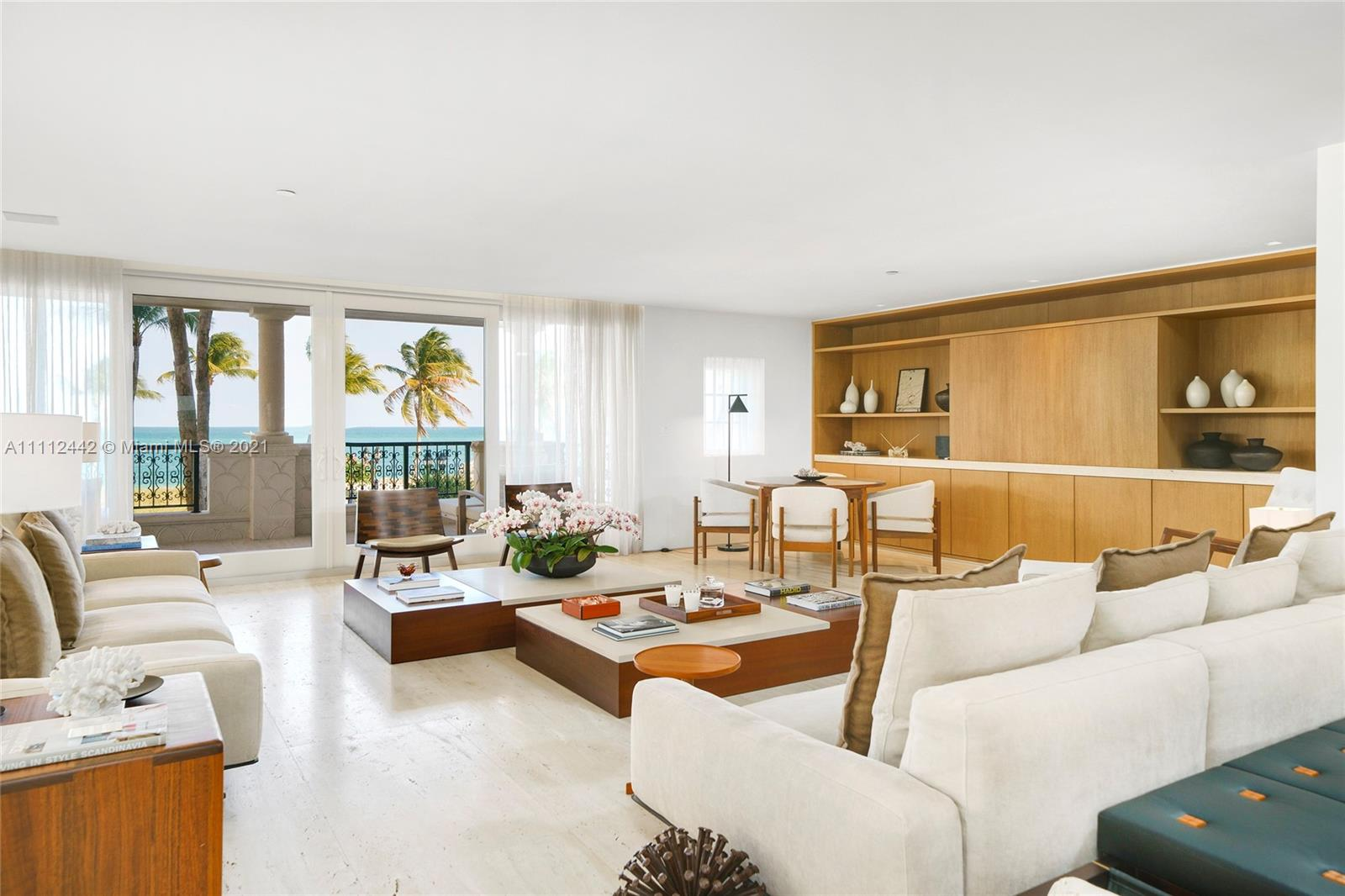 7821  Fisher Island Dr #7821 For Sale A11112442, FL
