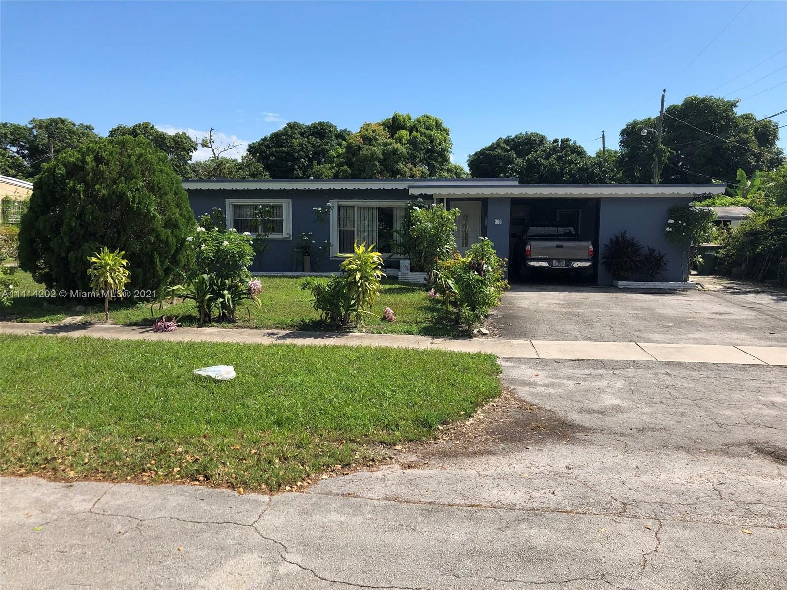 380 NW 122nd St  For Sale A11114202, FL
