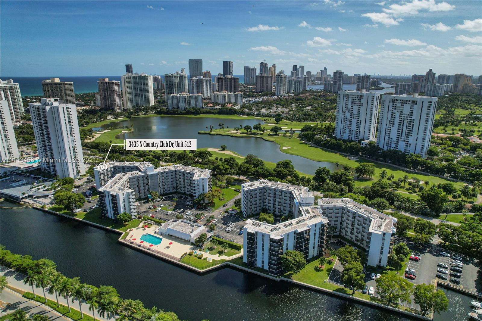 3475 N Country Club Dr #512 For Sale A11113456, FL