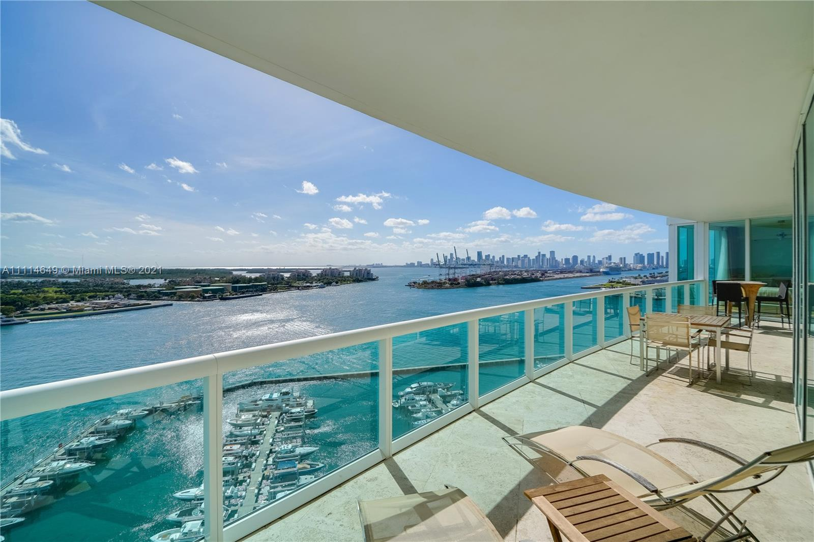 1000 S Pointe Dr #1802 For Sale A11114649, FL