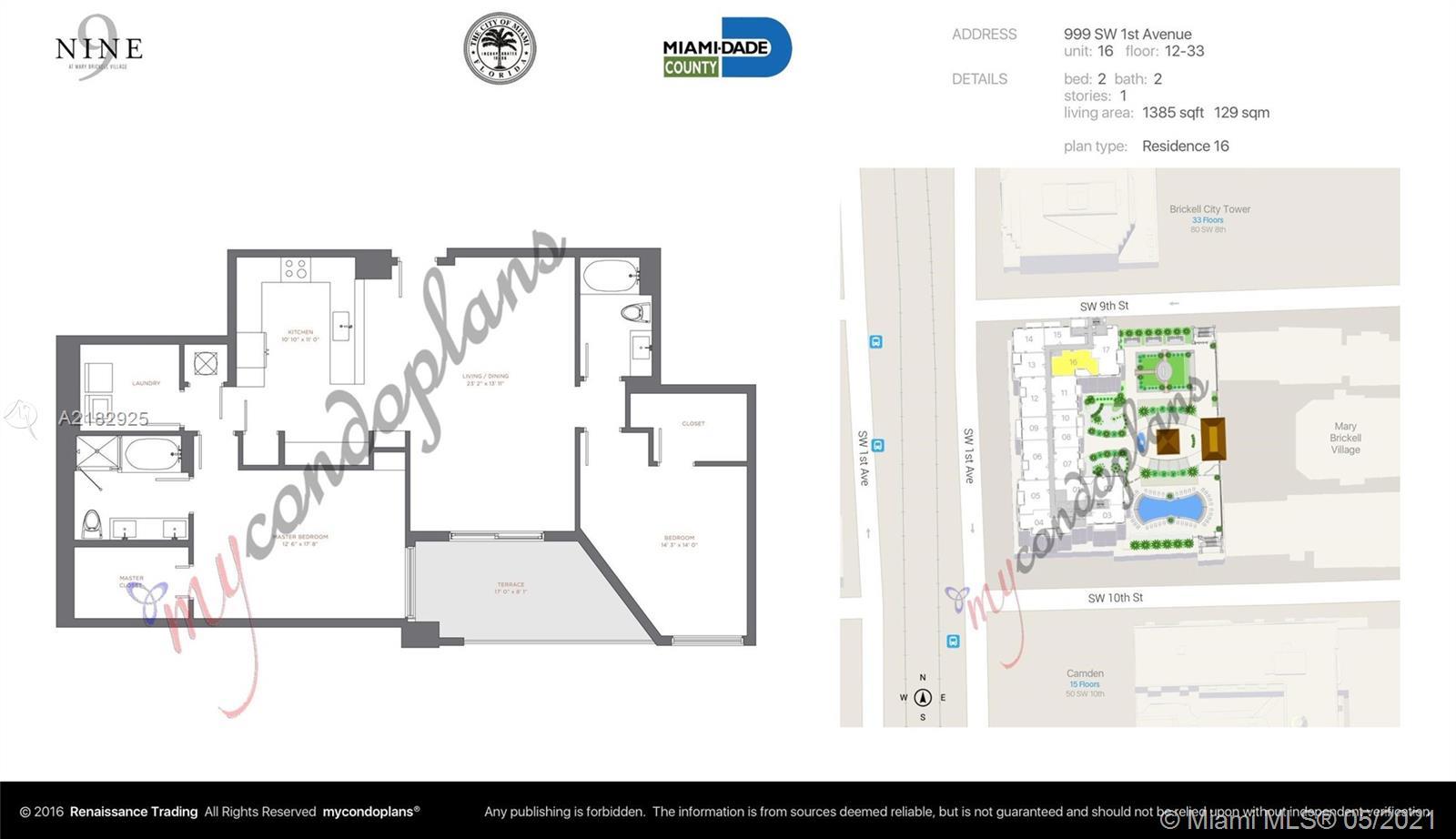 999 SW 1 St Avenue #1716, Miami, Florida image 4