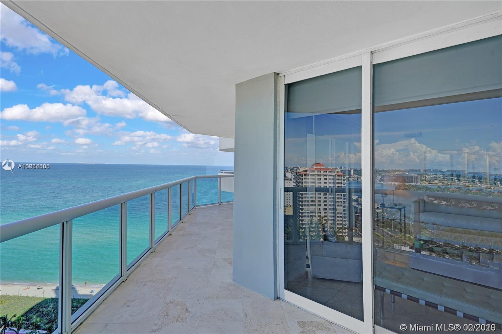 6301  Collins Ave #2708 For Sale A10064505, FL