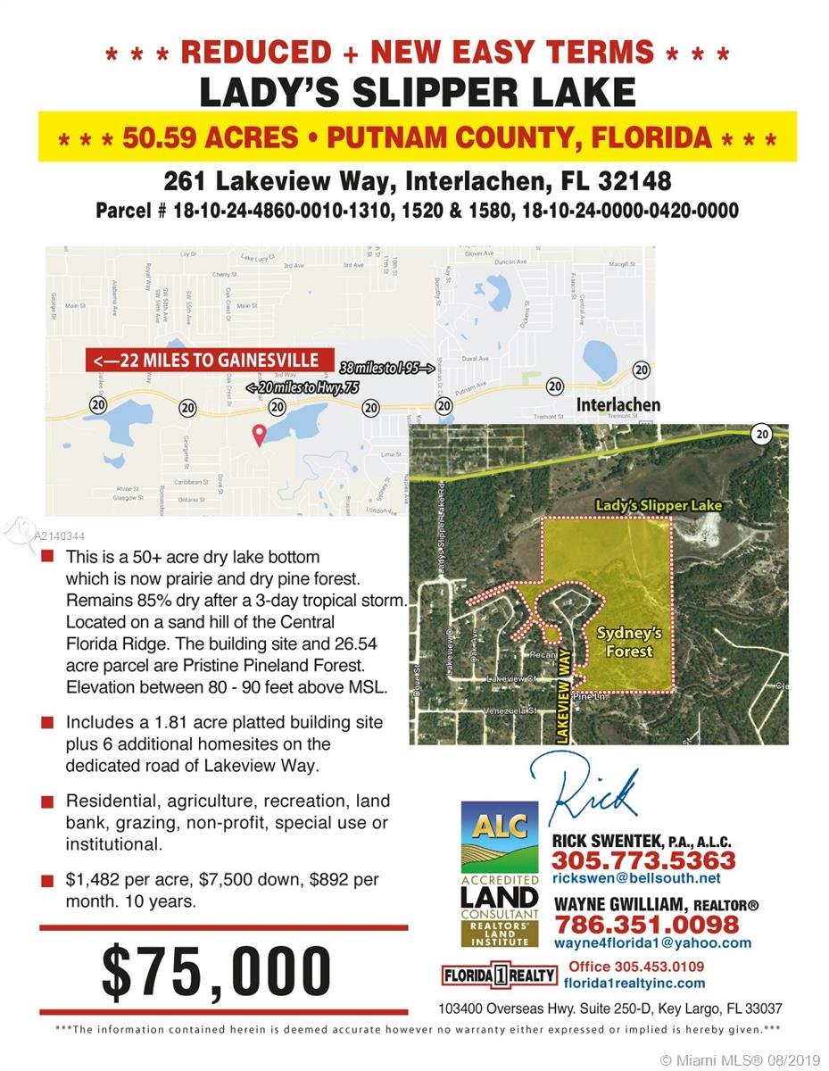 261 LAKEVIEW WY,INTERLAC, Other City - In The State Of Florida, FL 32148