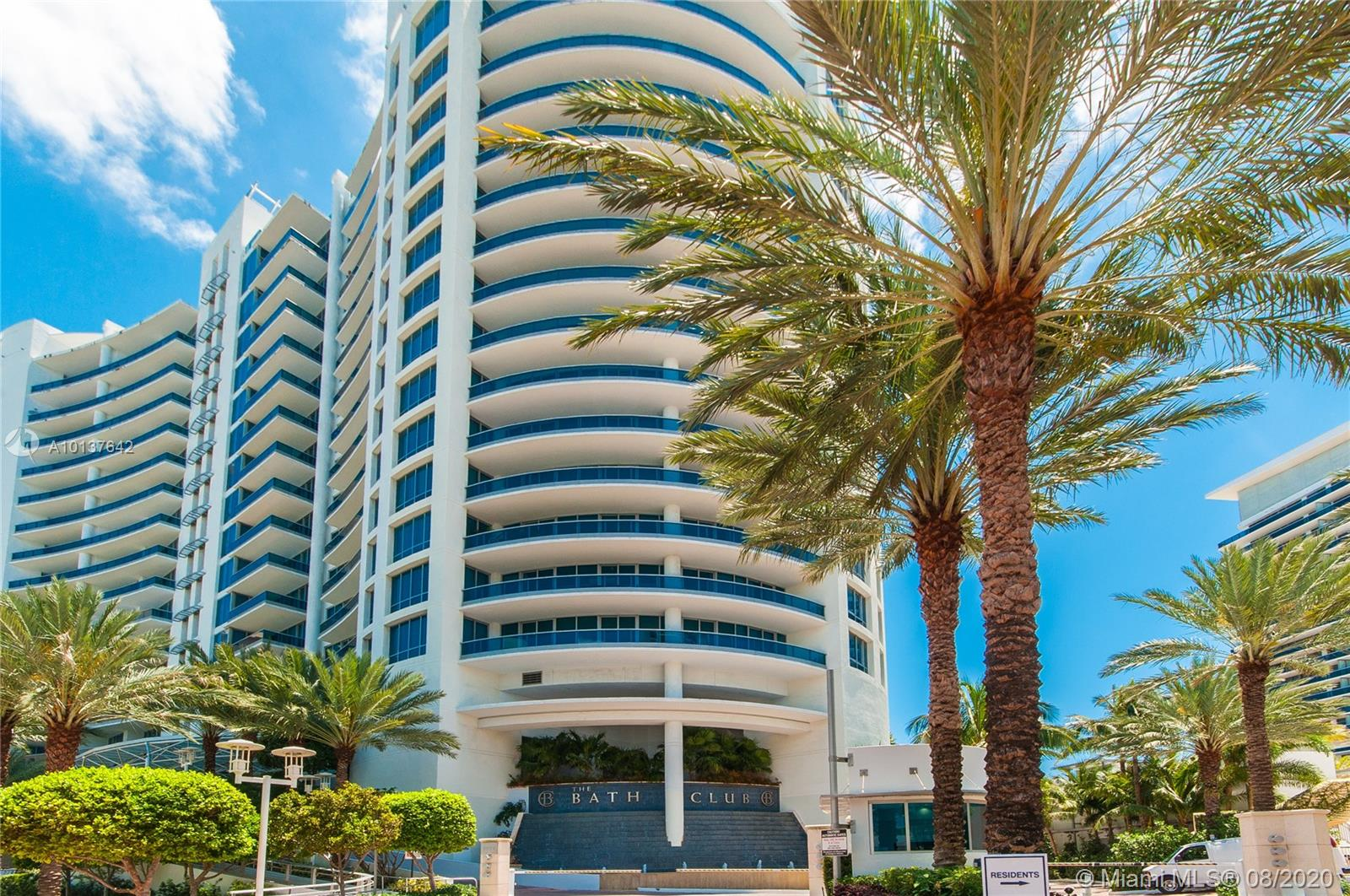 5959  Collins Ave #1607 For Sale A10137642, FL