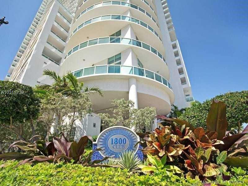 1800 N Bayshore Dr #3604 For Sale A10315239, FL