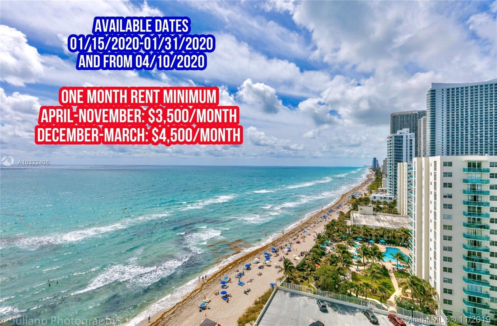 3725 S Ocean Dr #1604 For Sale A10322406, FL