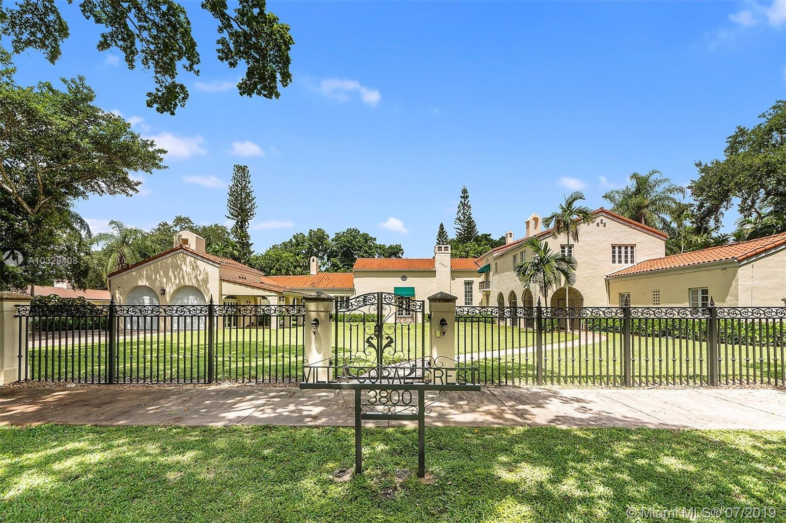 3800 Granada Blvd, Coral Gables, FL 33134