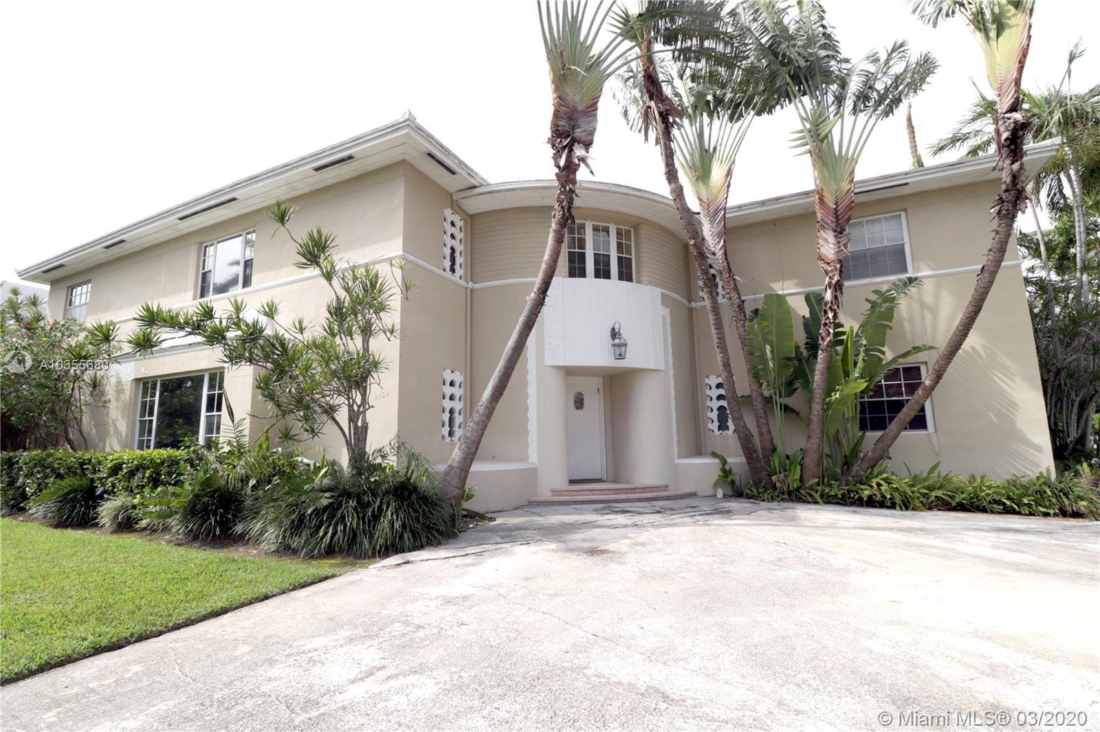 2560  Sunset Drive  For Sale A10355680, FL