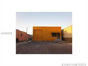 RARE OPPORTUNITY TO BUY 15 FT HIGH 3315 SQ.FT. WAREHOUSE WITH CONTAINER DOCK & OPEN FLOOR PLAN. THIS FREE STANDING WAREHOUSE HAS AN OFFICE AREA, BATHROOM, RECEPTION AREA, AND A DOCK HEIGHT LOADING DOOR WITH ASPHALT PAVING. 482 SQ. FT. OFFICE WITH CERAMIC TILE, NATURAL STONE FLOORS. CENTRALLY LOCATED IN AN ESTABLISHED INDUSTRIAL AREA MINUTES FROM MIAMI INTERNATIONAL AIRPORT, ST, RD. 112. LE JUNE ROAD, AND NW 36 ST. WALKING DISTANCE TO METRORAIL AND AMTRAK STATION.