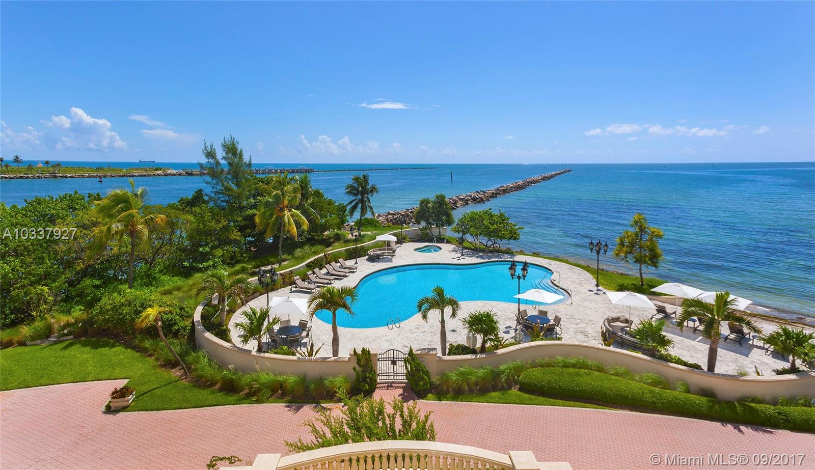 7233  Fisher Island Dr #7233 For Sale A10337927, FL