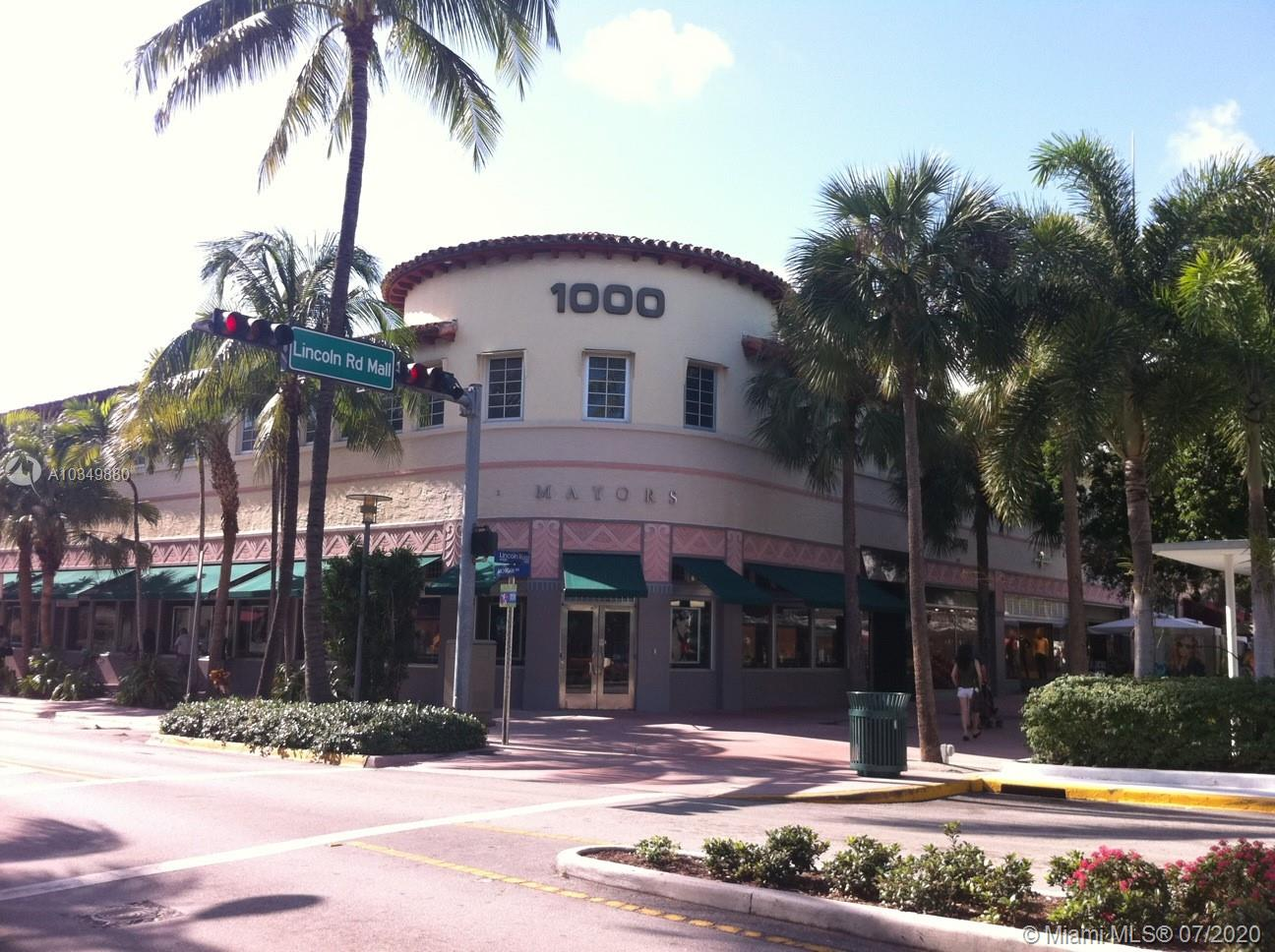 1000  Lincoln Rd #206 For Sale A10349880, FL