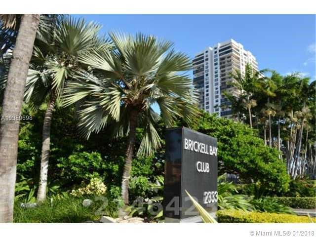 2333  Brickell #317 For Sale A10359698, FL