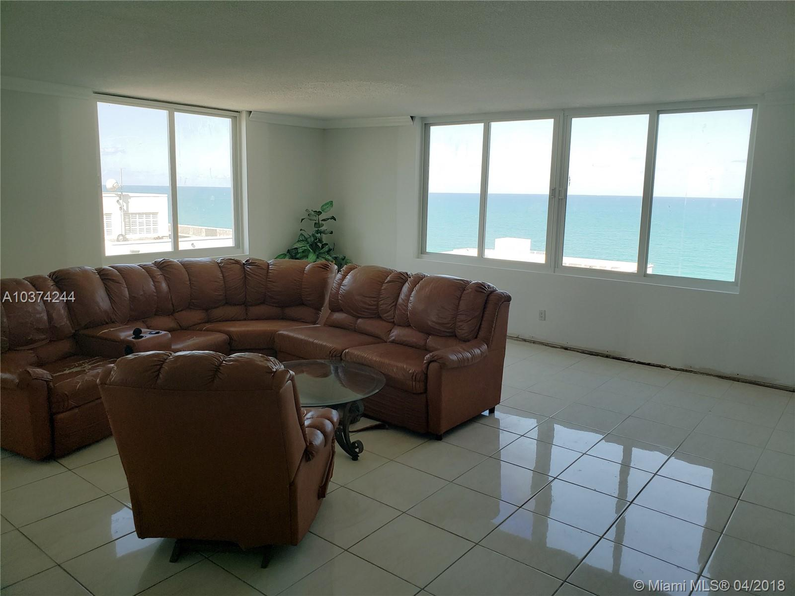 5401  Collins Ave #919 For Sale A10374244, FL
