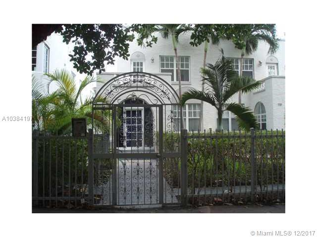 719  Meridian Ave #8 For Sale A10384197, FL
