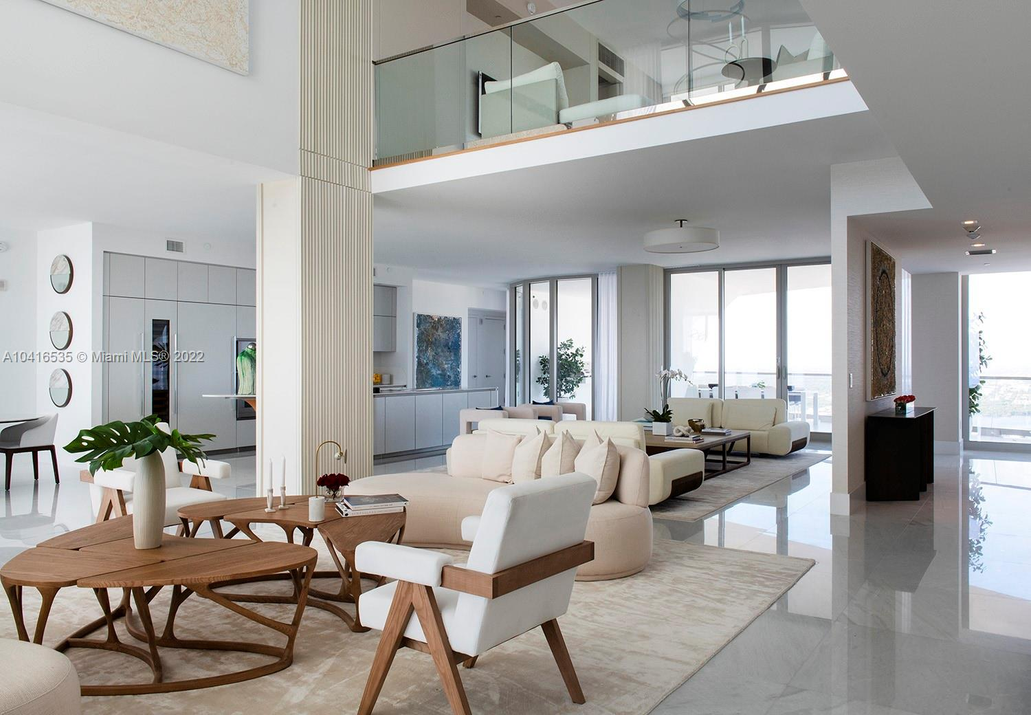 Developer unit. a must see! unobstructed views of the ocean and intracoastal - enormous terraces. Decorator ready