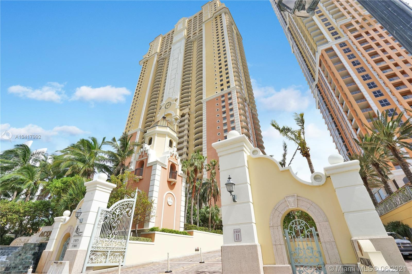 17875  Collins Ave #3605 For Sale A10417992, FL