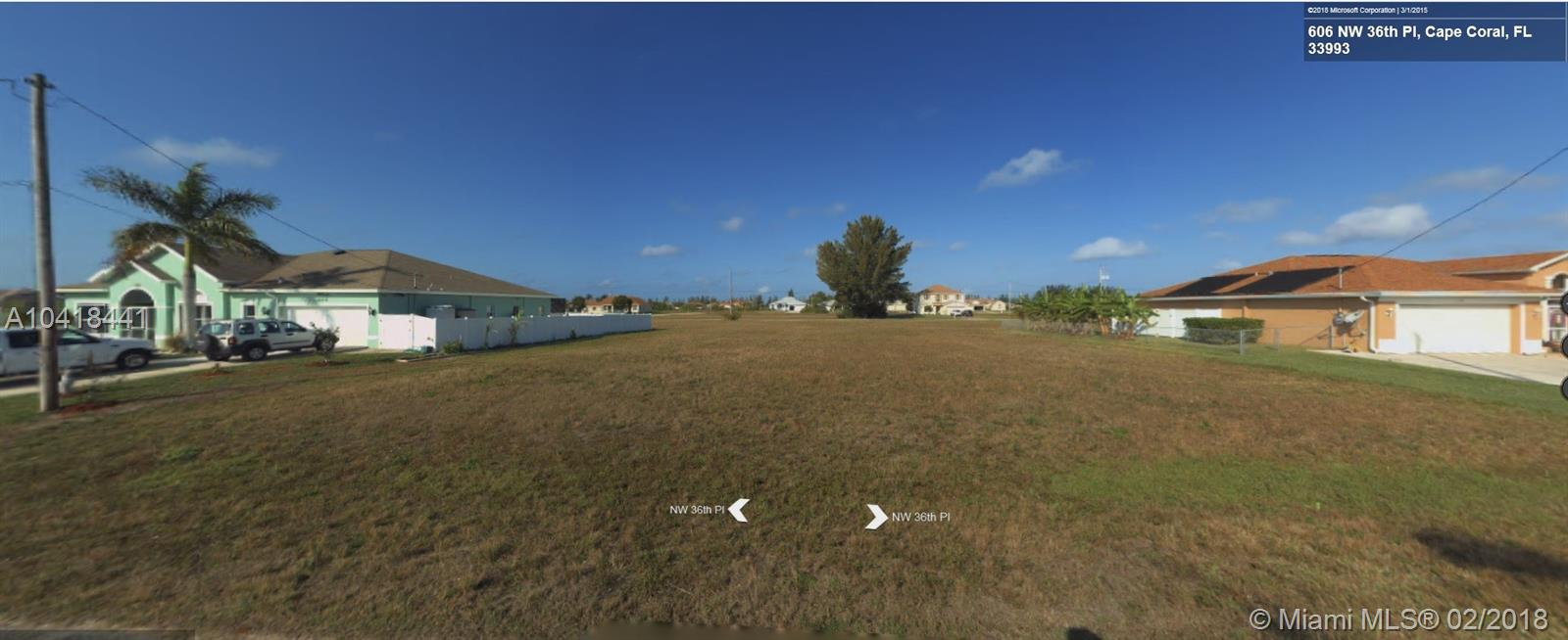 606 NW 36, Other City - In The State Of Florida, FL 33993
