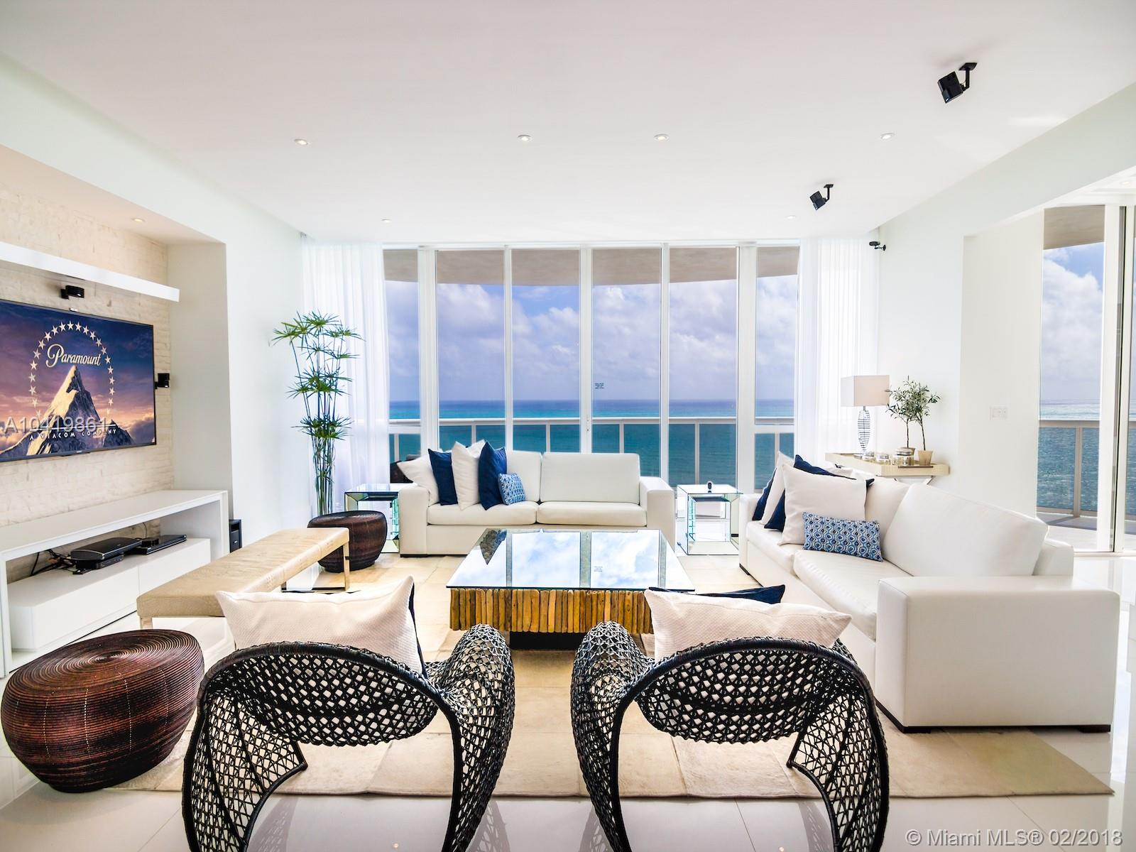 15811  Collins Ave #1801 For Sale A10419861, FL