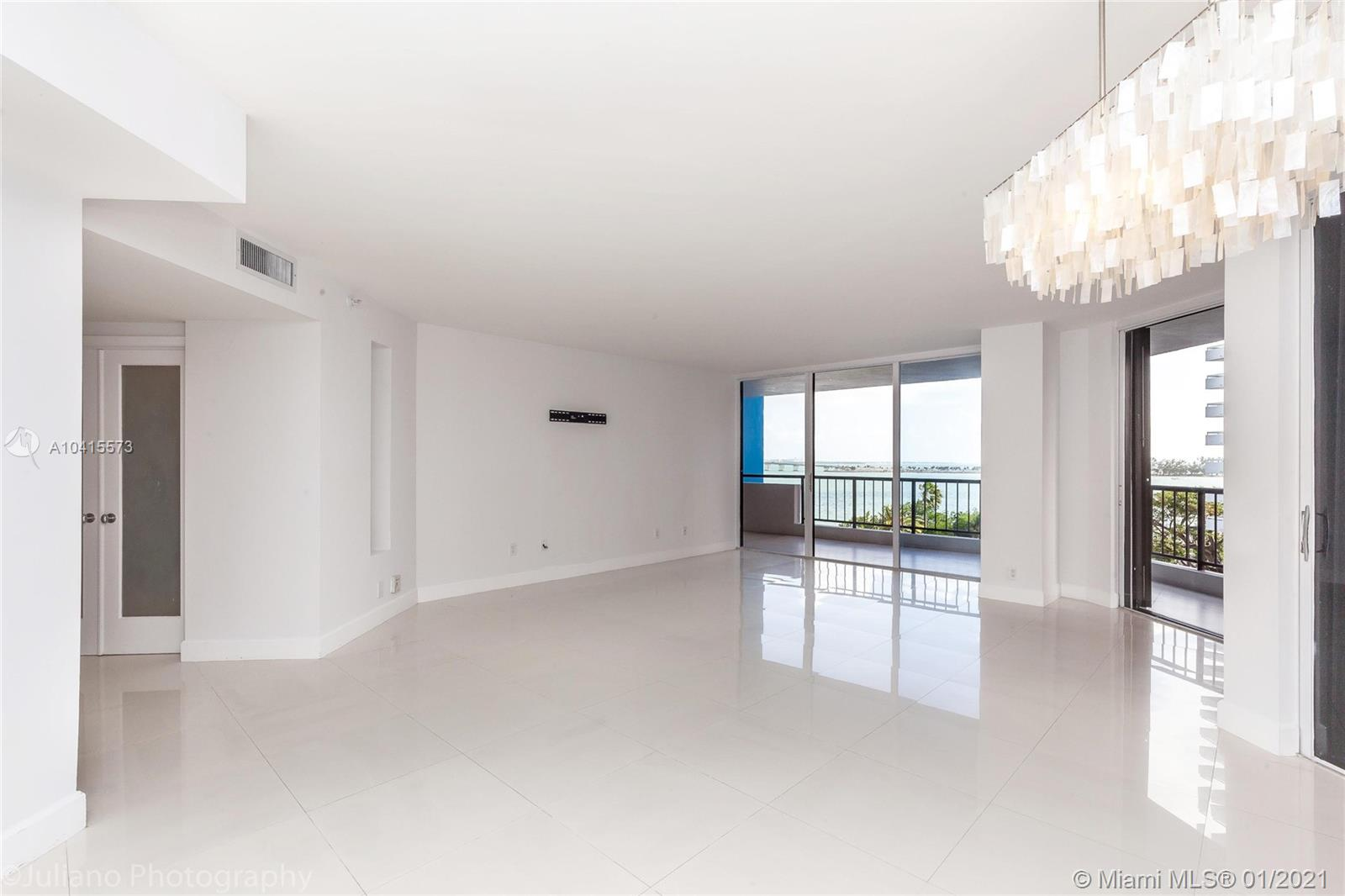 BEAUTIFUL REMODELED UNIT WITH SPECTACULAR BAY VIEW. DEN HAS BEEN CONVERTED TO POSSIBLE 3rd BEDROOM WITH ITS OWN BATHROOM, MAKING IT A 3BED/3BATH UNIT. TILE FLOORS THROUGHOUT, GRANITE COUNTERTOPS, BUILT IN CUSTOM CLOSETS, WINDOW TREATMENTS ON BEDROOMS. VERY SECURE AND WELL MAINTAINED BUILDING WITH GREAT AMENITIES, INCLUDING STATE OF ART GYM, KIDS PLAYROOM, SPACIOUS ENTERTAINMENT ROOMS, BIKE ROOM, HEATED INFINITY POOL OVERLOOKING THE BAY AND MARINA WITH SLIPS AVAILABLE FOR SALE OR RENT