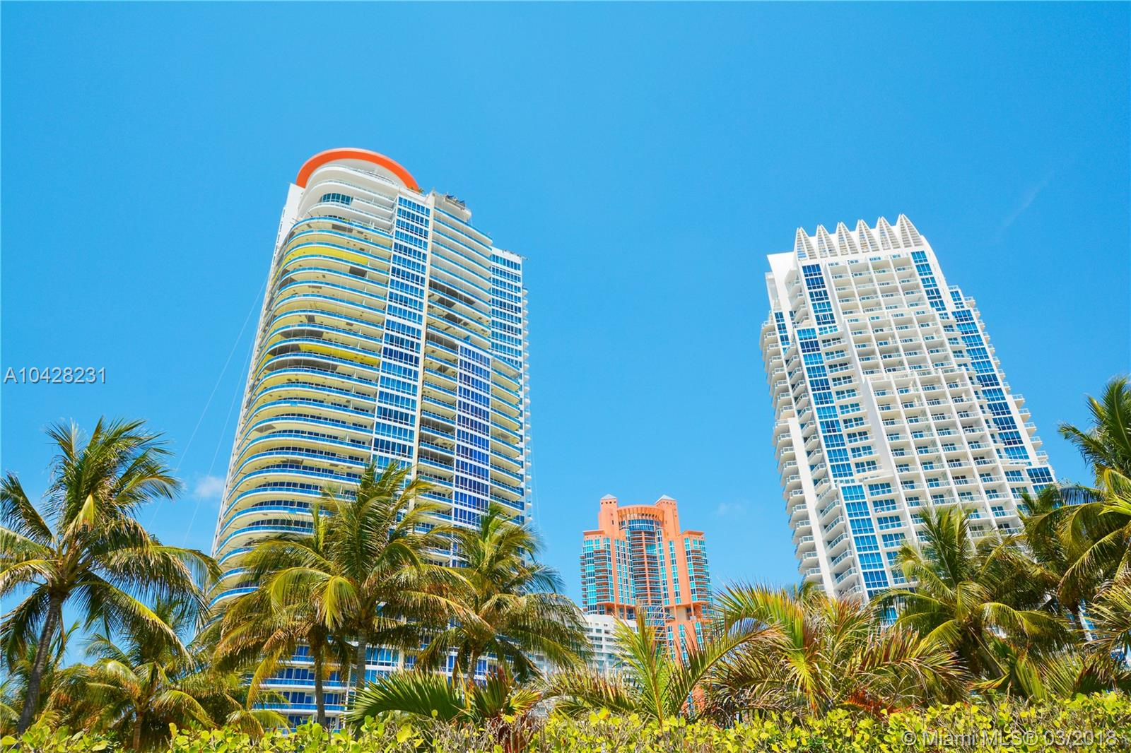 50 S Pointe Dr #502 For Sale A10428231, FL