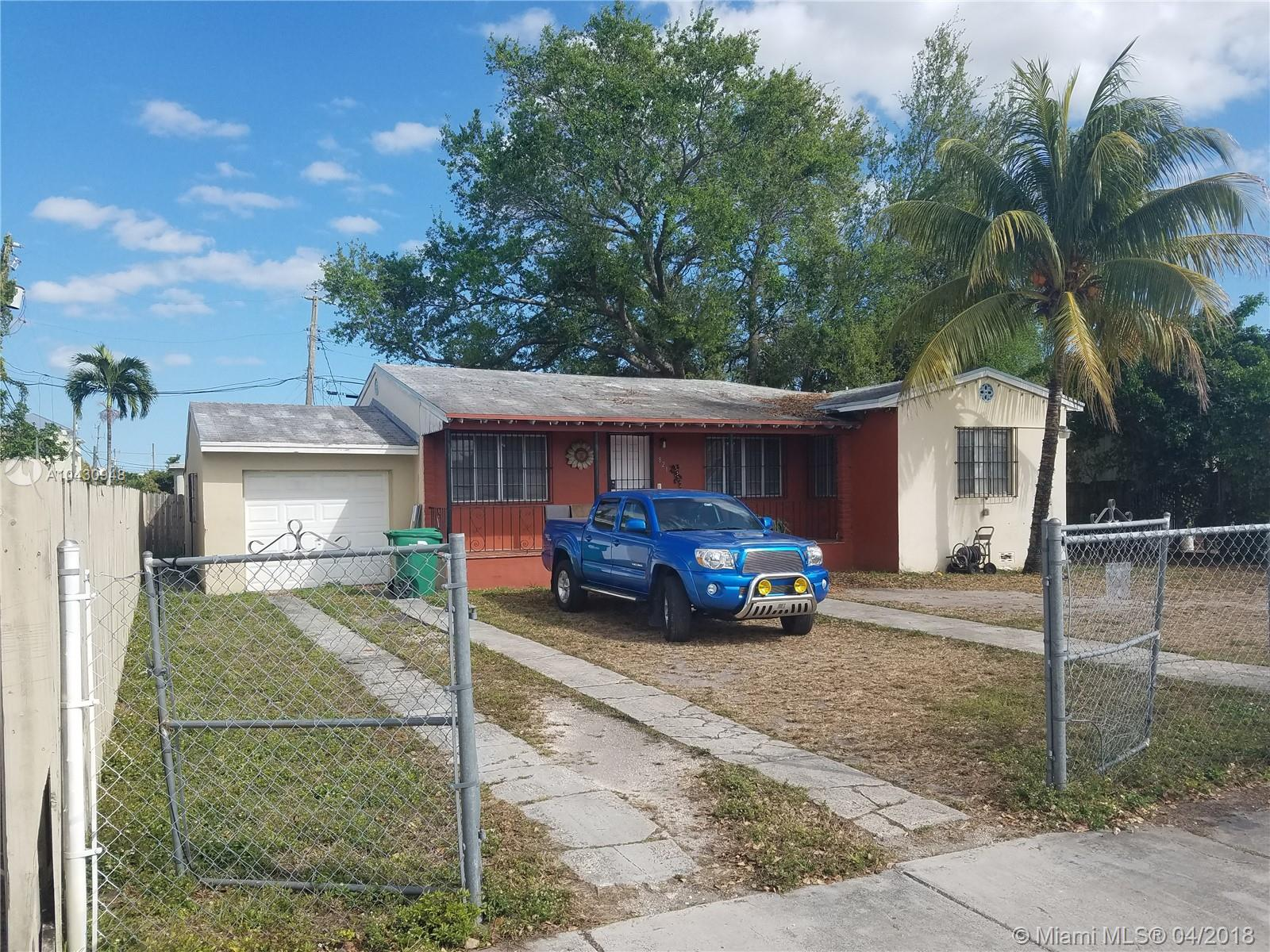 821 SW 72nd Avenue  For Sale A10430948, FL