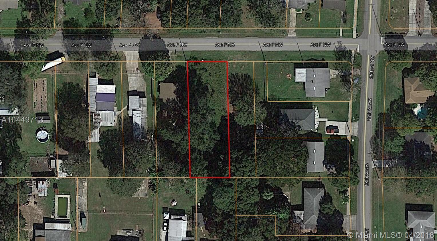 28 TH NW AVE P NW, Other City - In The State Of Florida, FL 33881