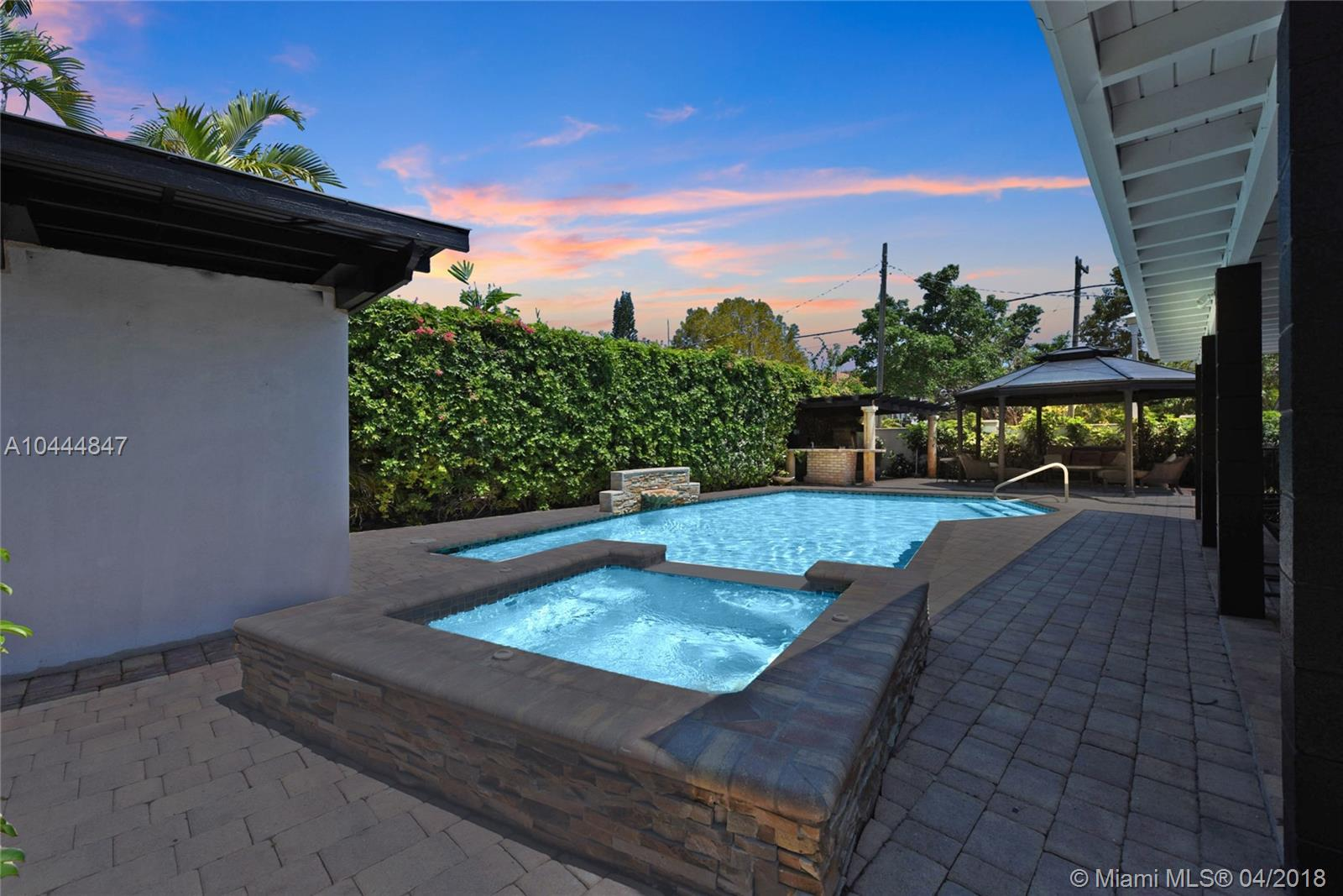 "You will fall in love with this FULLY remodeled, spacious, 5 Bedroom & 6 Bathroom palace located right in the heart of one of South Florida's most sought after prestigious neighborhoods: ""The Roads""! Large Chef's kitchen, Built-in breakfast area, Built-in Sound system, Electric Fireplace, & Extra large island are perfect for entertaining all of your friends and family, while overlooking the tropical oasis pool area. No expense spared in this beauty that is perfect for a growing family looking to work and play just step from Brickell, Downtown, Design District, Coconut Grove, Midtown, Coral Gables, Key Biscayne, & Miami Beach. The large corner lot commands attention at one of the most desirable intersections in the neighborhood. New Metal Roof, New Impact windows & Doors, etc. A MUST See!"