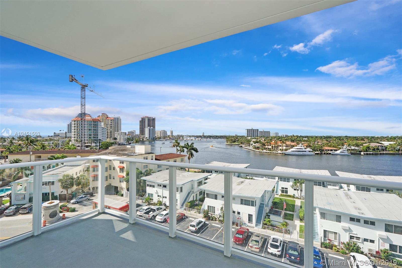 Brand New Unit - gorgeous direct intracoastal views! Enjoy the sunset on your oversized balcony.  This unit modern open-style is beautifully finished.  The kitchen boast of Italian cabinets and contemporary hardware, top of the line appliances, and stone countertops as well as a laundry room with full size washer/dryer.  Top of the line amenities including 24/7 valet, lobby attendant, roof top pool with intracoastal views, club room with full kitchen and bar area, wifi in common areas and so much more.  Currently has a tenant in the unit.