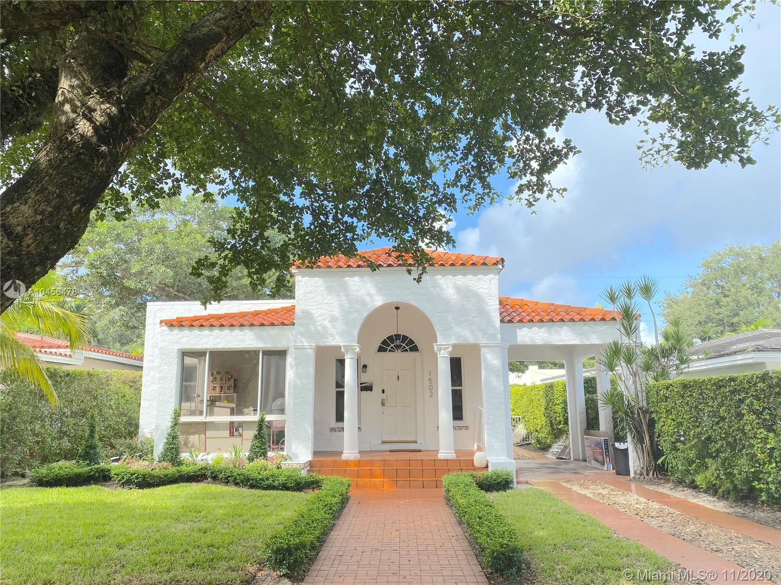 Details for 1502 Tunis St, Coral Gables, FL 33134