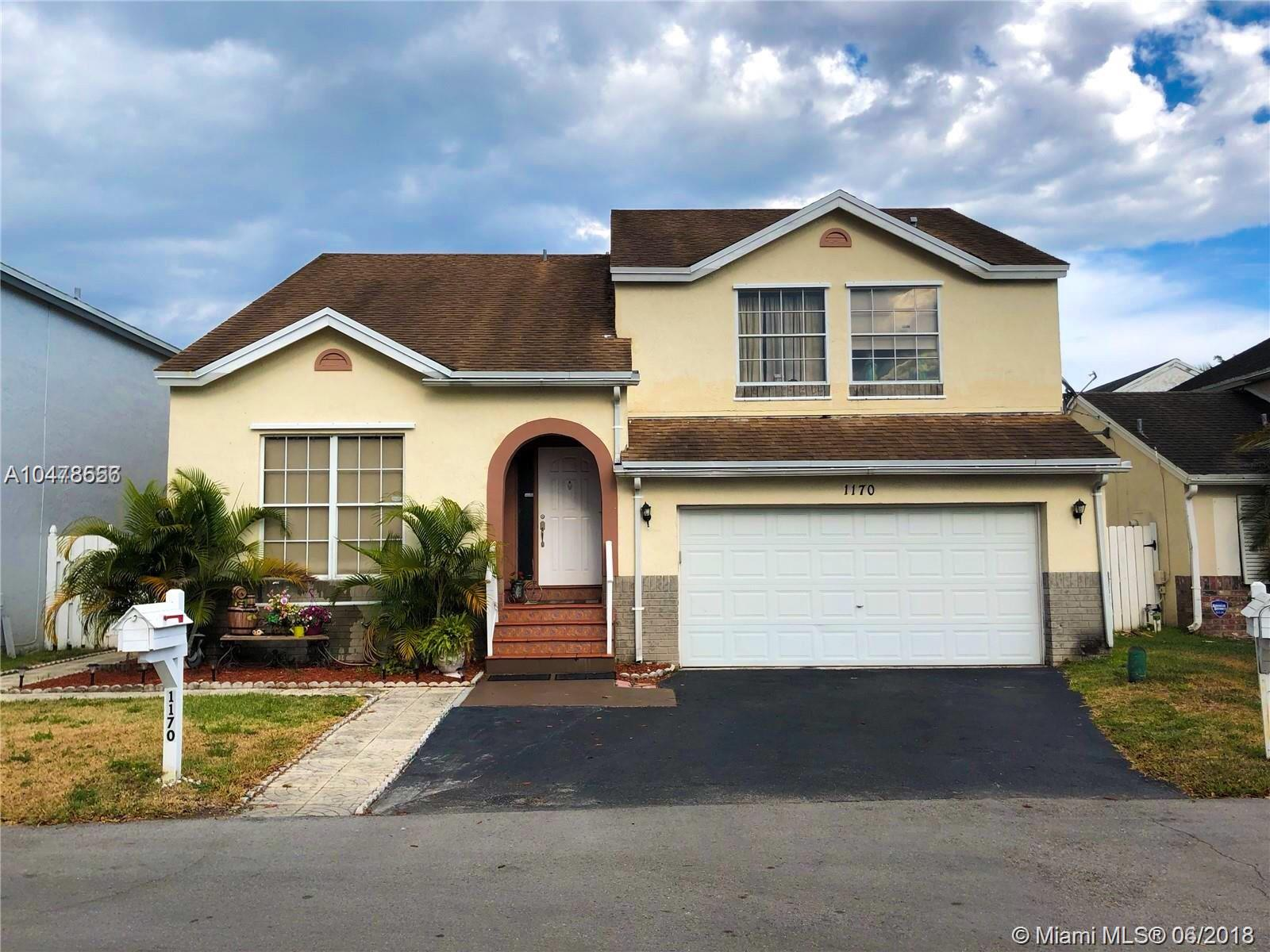 1170 SW 108th Ter  For Sale A10478556, FL