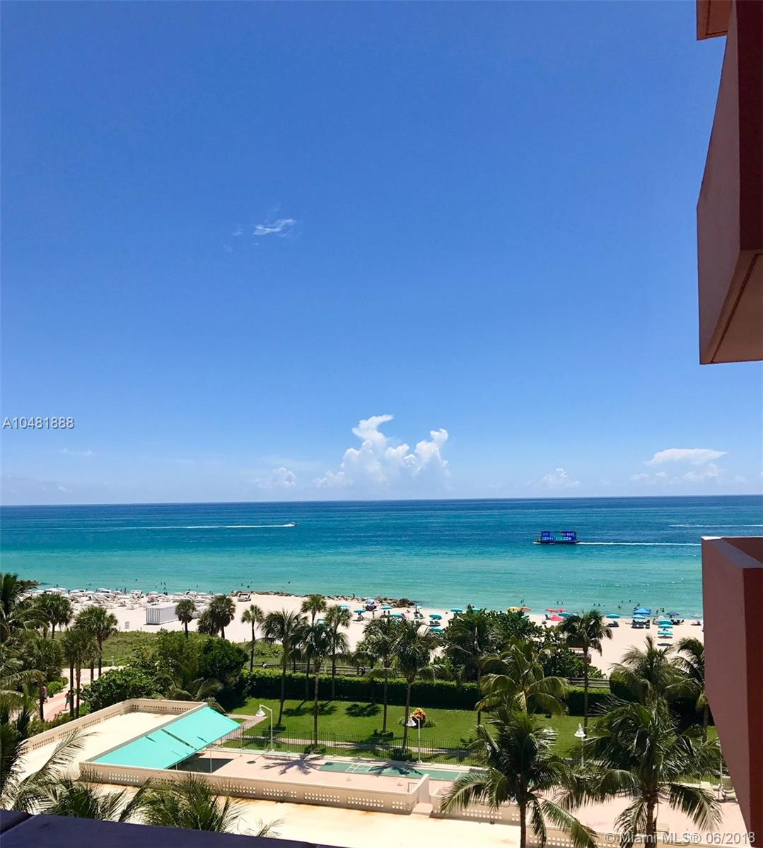 2899  Collins Ave #827 For Sale A10481888, FL