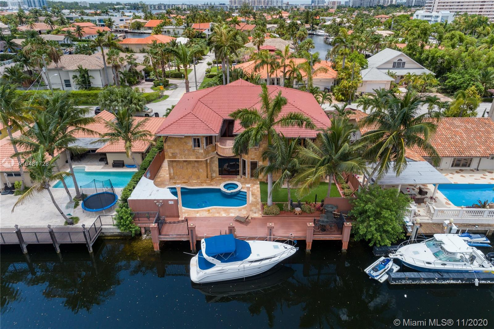 3400 NE 164th St  For Sale A10481728, FL