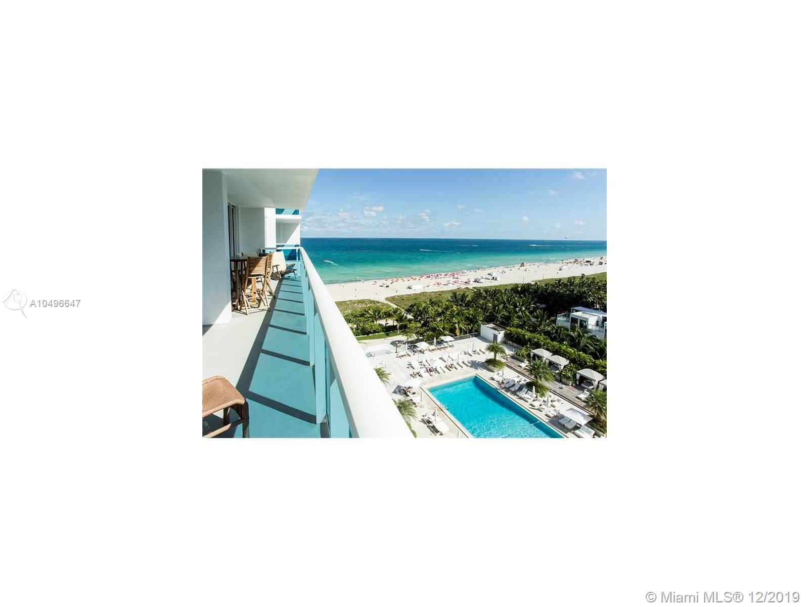 2301  Collins Ave #1007 For Sale A10496647, FL