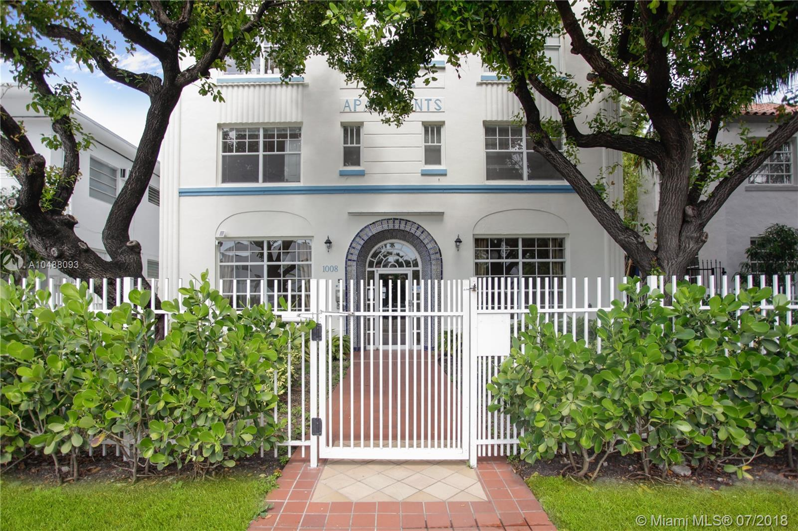 1008  Jefferson Ave #103 For Sale A10488093, FL