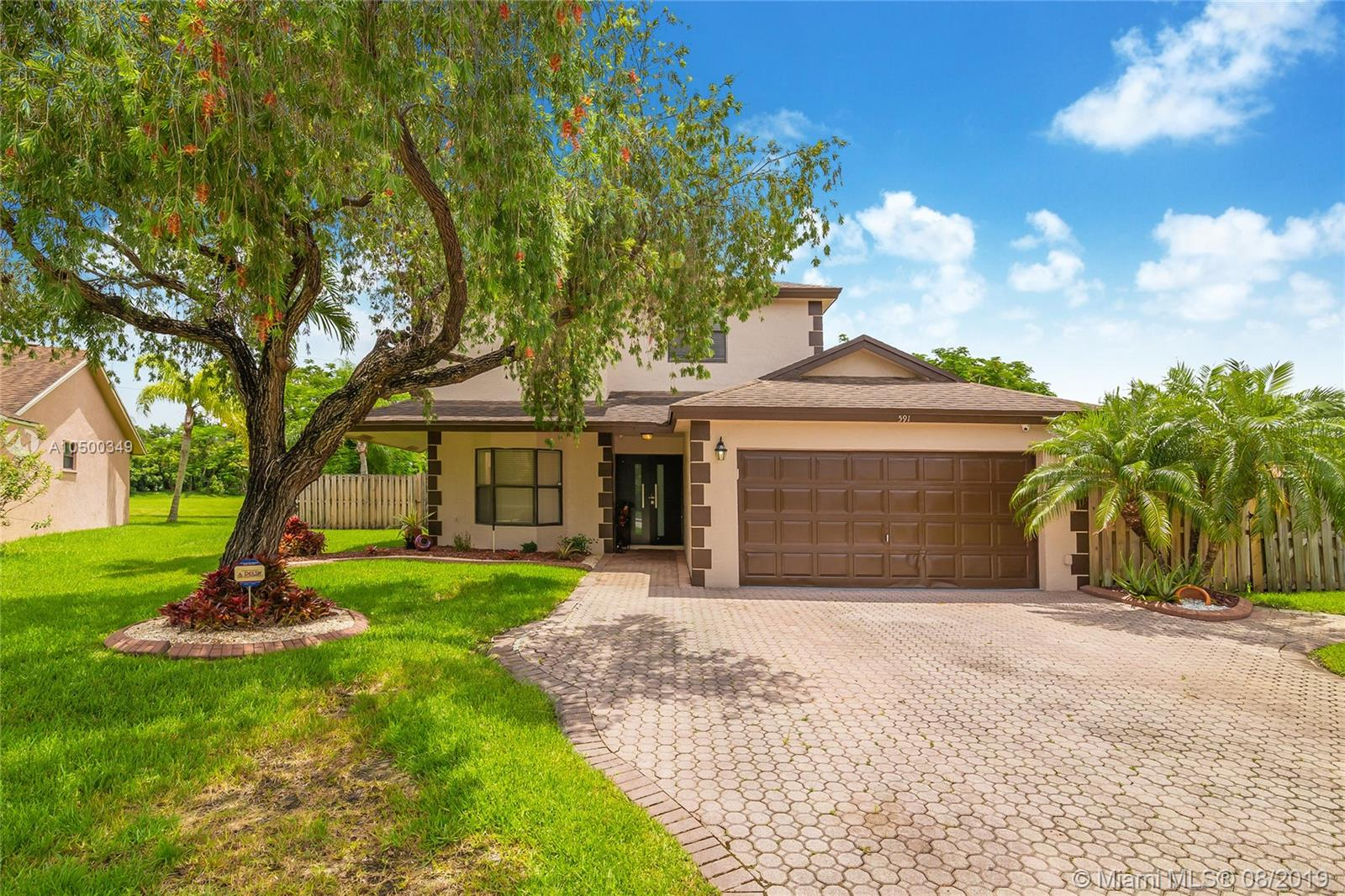 591 SW 169th Ter  For Sale A10500349, FL