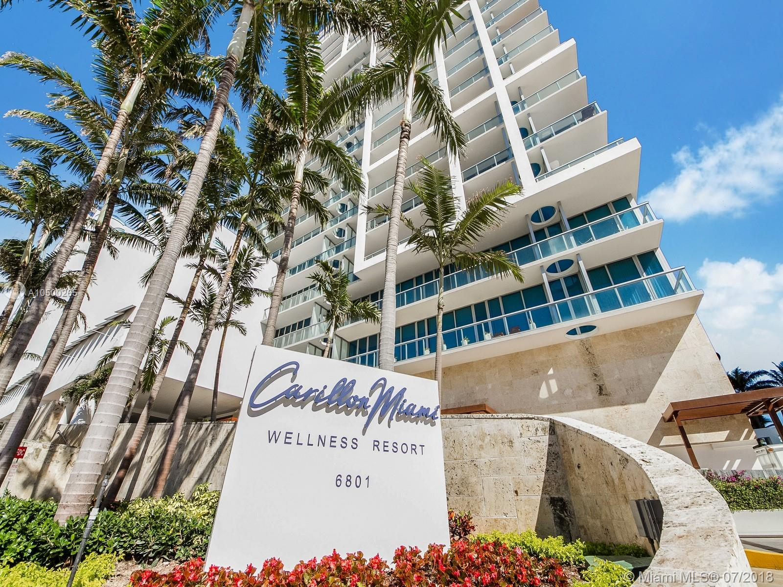 6801  Collins Ave #1109 For Sale A10500265, FL