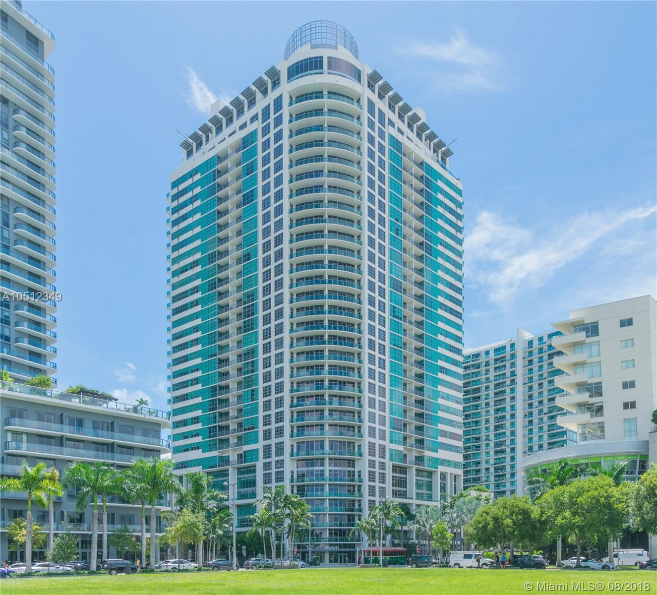3301 N E 1st Ave #H0809 For Sale A10512349, FL