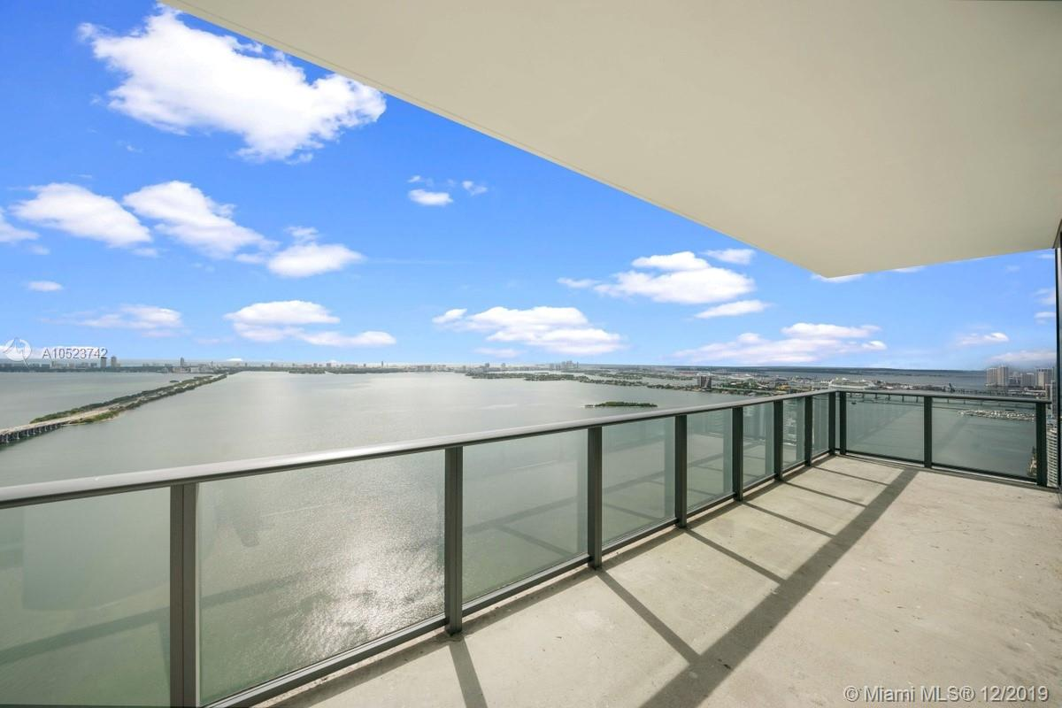 Live on top of the world in the newly built One ParaisoCondo tower in Edgewater, PH 5101 features 3,015 of interior spaceand 666sq ft of exterior. Enjoy the magnificent unobstructed  views of the bay  and downtown ffrom this 4 bedroom , 4 bathroom PH with East-South and west exposures.  One Paraiso is a full service building designed by world renowned designer Piero Lissoni and it offers all kinds of ammenities.  Easy to show.