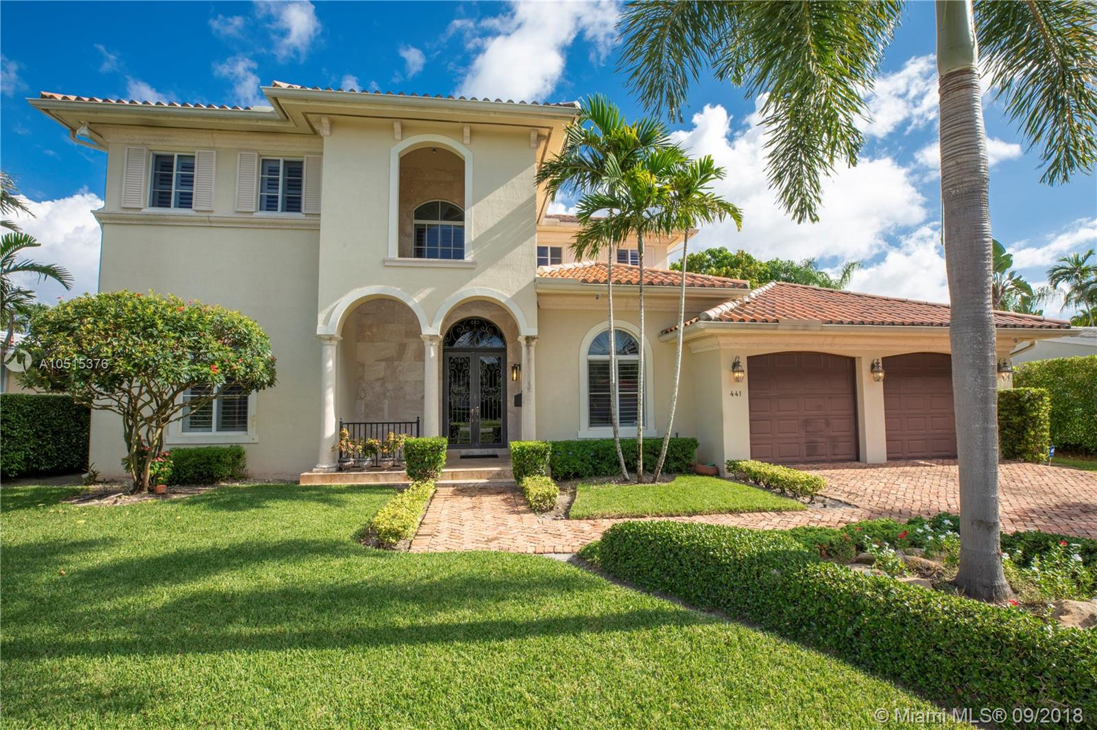 441  Gerona Ave  For Sale A10515376, FL