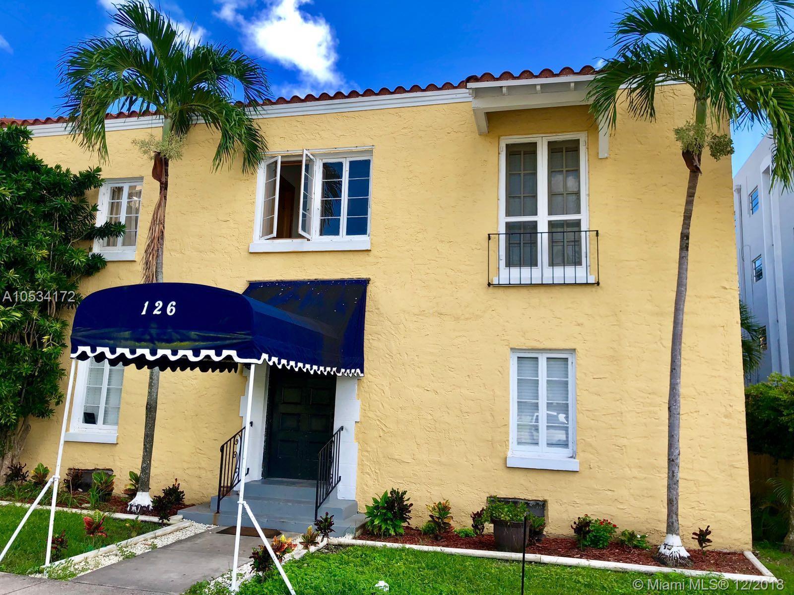 126  Mendoza Ave #3 For Sale A10534172, FL