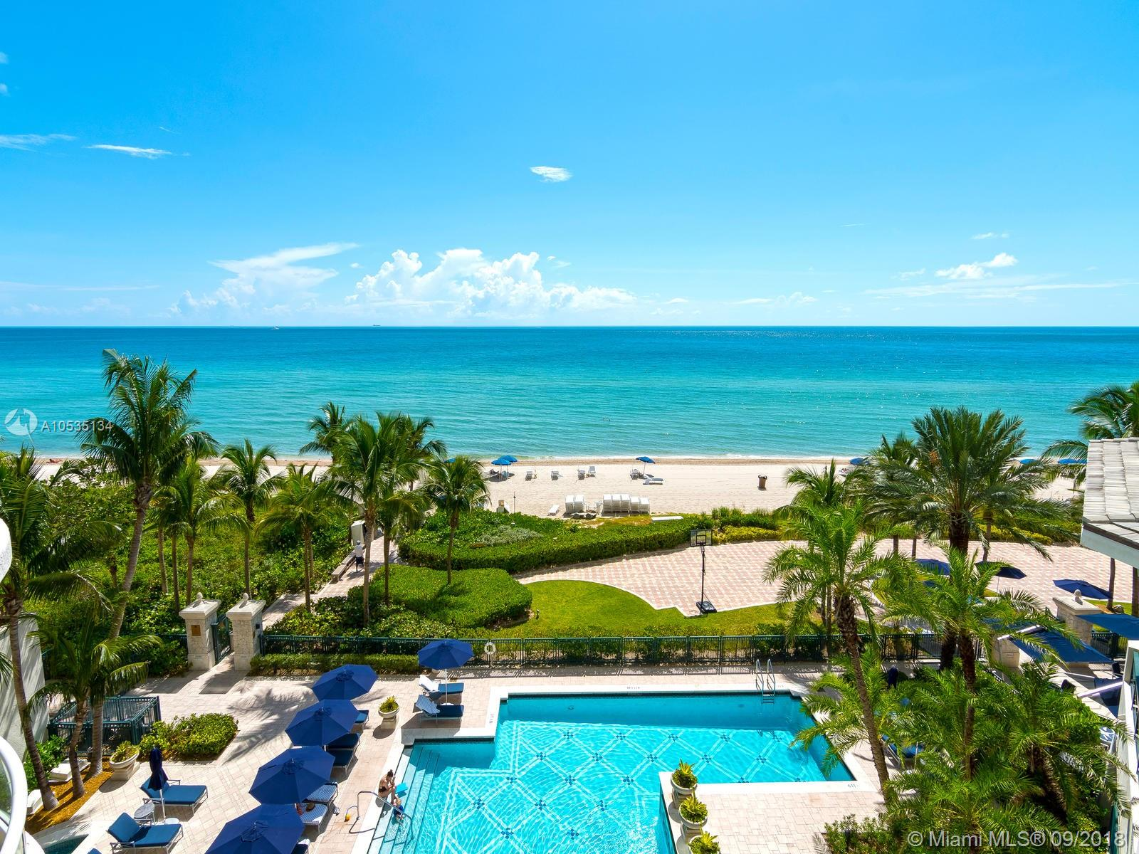 16051  Collins Ave #501 For Sale A10535134, FL