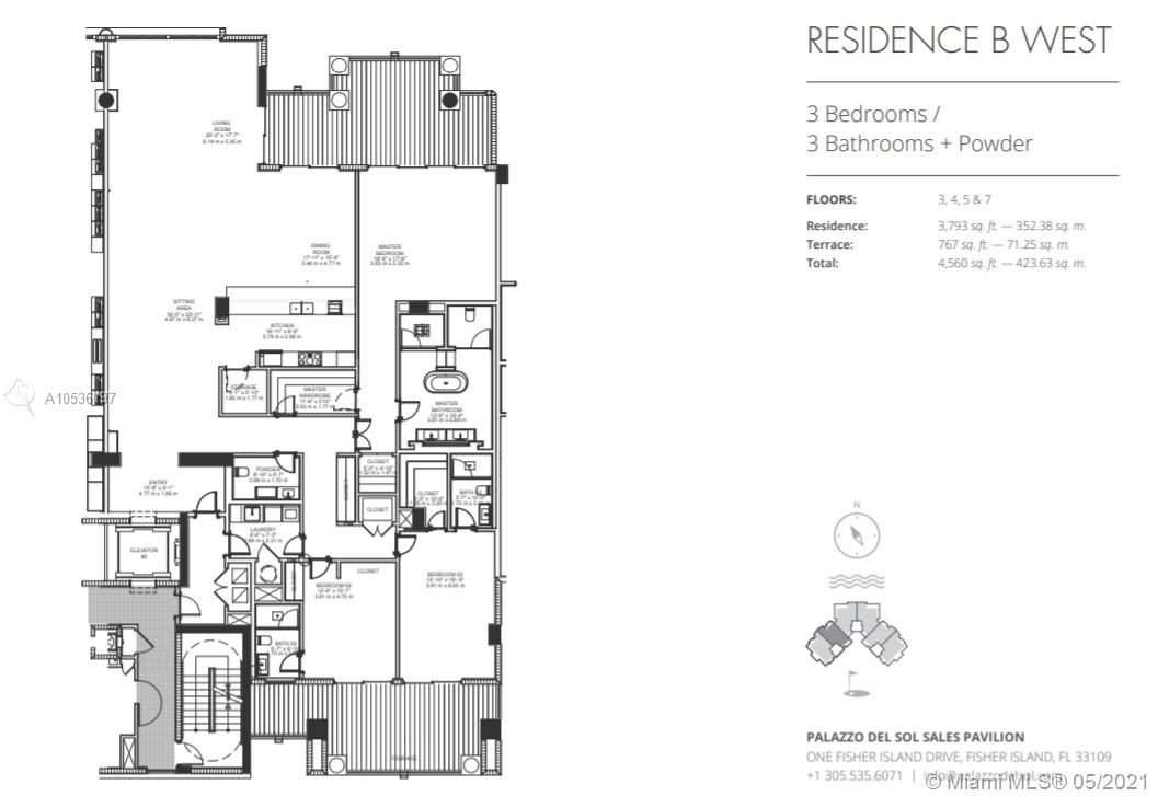 7072  Fisher Island Drive #7072 For Sale A10536197, FL