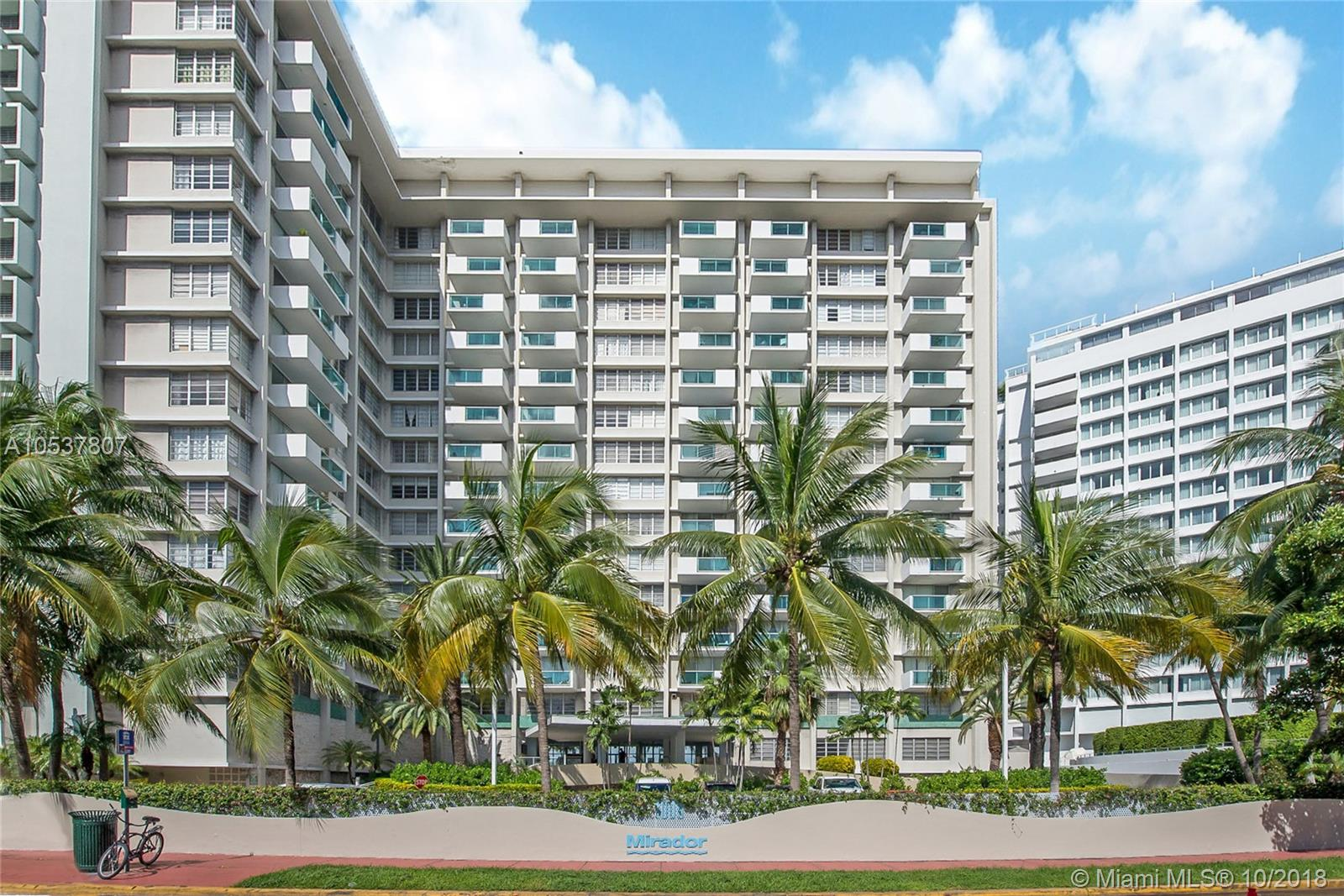 1000  West Ave #821 For Sale A10537807, FL