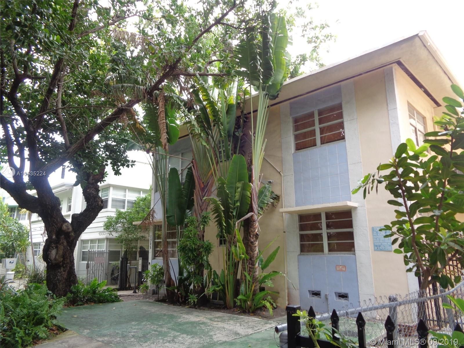1325  Meridian Ave #5 For Sale A10535224, FL