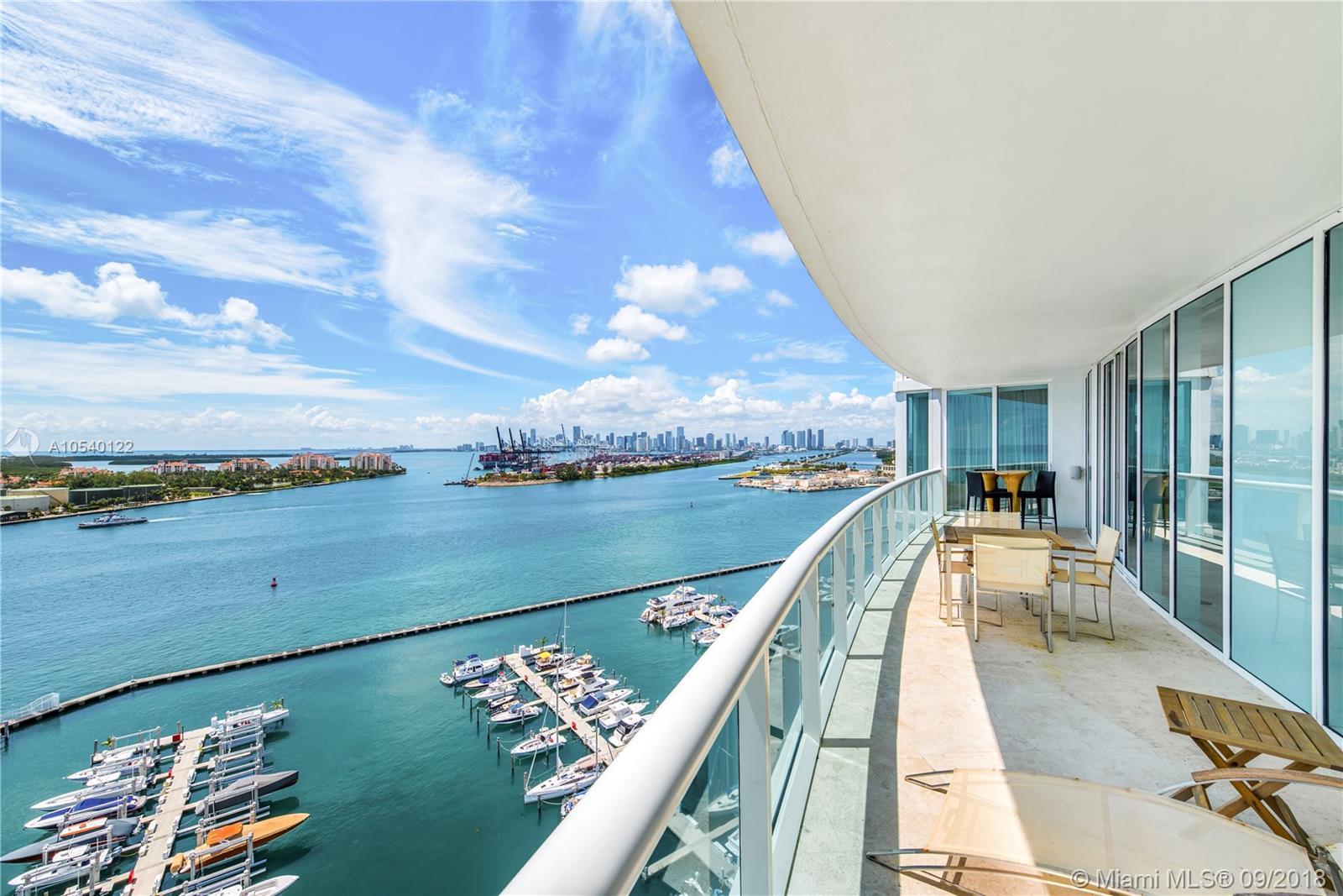 1000 S Pointe Dr #1802, Miami Beach FL 33139