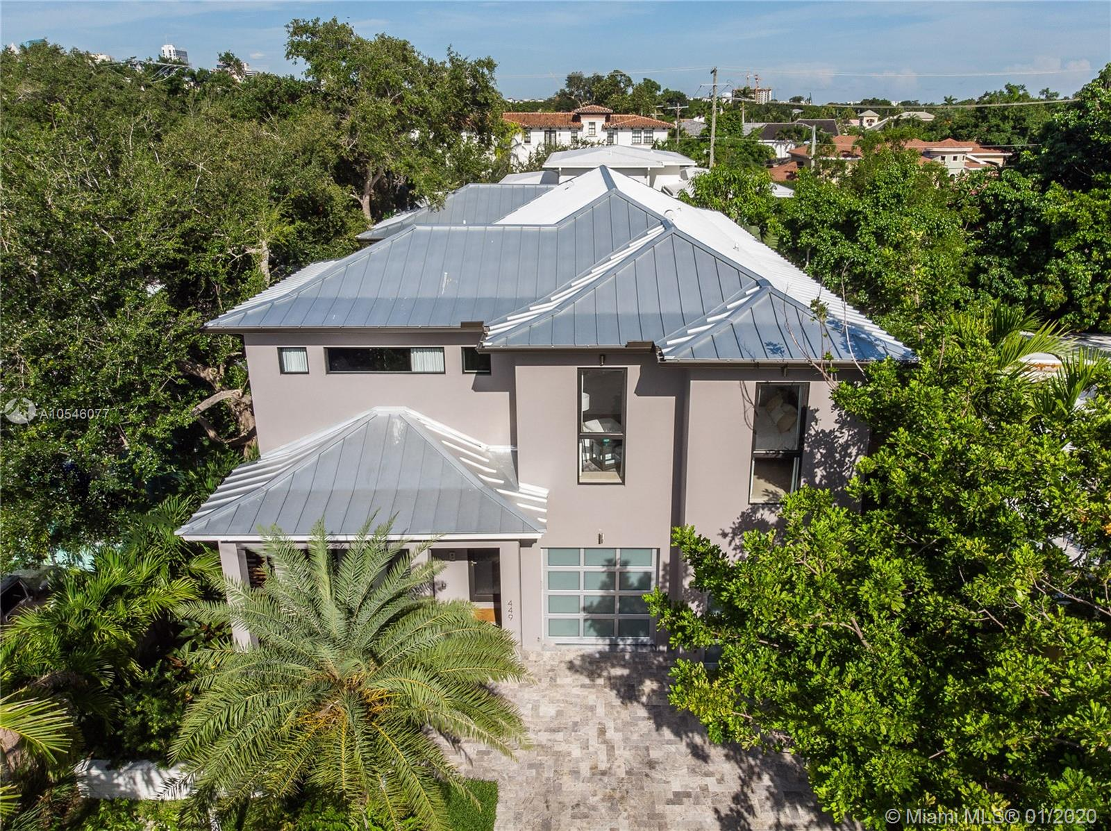 A beautiful modern new construction estate in the heart of Victoria Park in Fort Lauderdale. Fully automated smart home (lighting, audio, AC, alarm and security camera system). Grand living areas with open layout and large windows allowing for tones of natural light throughout the home! Spacious kitchen with Italian style cabinets, stainless steel appliances, quartz countertops and large island overlooking the family area and patio with pool. Amazing yard with covered patio, custom lighting great for weekend relaxation in the pool or entertaining guests. The large master suite features  2 walk-in closets and separate tub and shower. The finest finishes throughout.