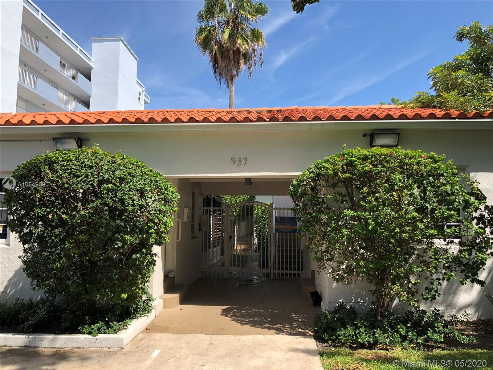 937  Lenox Ave  For Sale A10549080, FL